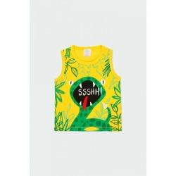 Camiseta serpiente bebé niño Boboli