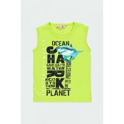 Camiseta punto sharks de niño Bóboli