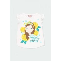 Camiseta punto limones niña Bóboli