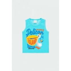 Camiseta pelicano bebé niño Bóboli