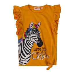 Camiseta niña cebra UBS2