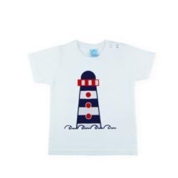 Camiseta bebe Familia Marinera Sardon