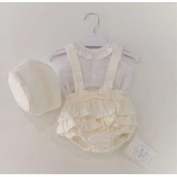 Ranita bebe niña 3 piezas Zoe Kiss