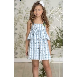 Vestido infantil estrellas Miranda