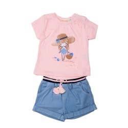 Conjunto pantalon niña Babybol