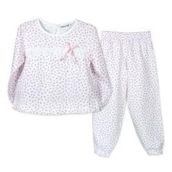 Pijama niña ml flores calamaro